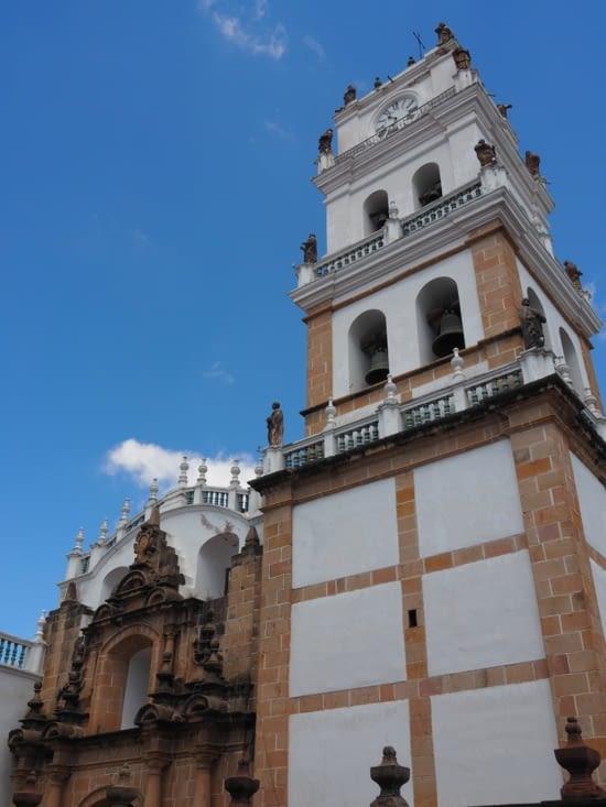 La cathédrale de Sucre sur la place principale