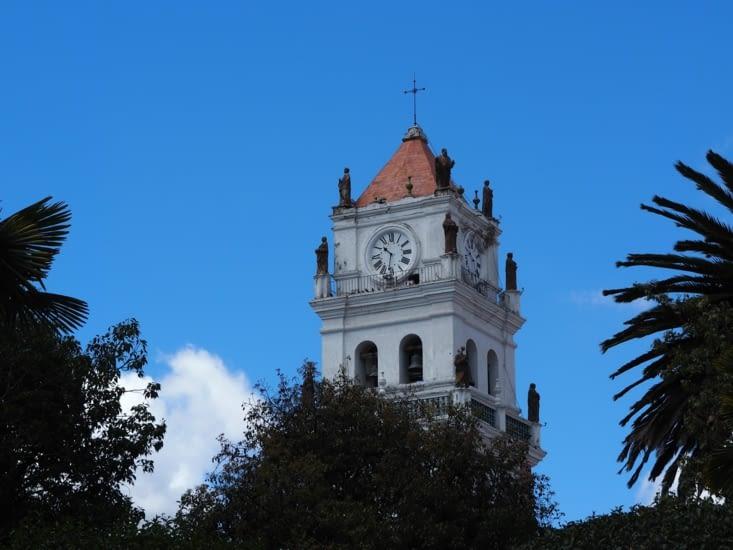 La cathédrale de Sucre