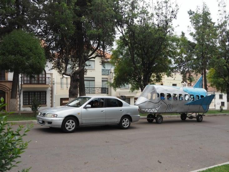 Les bolides du parc Bolivar
