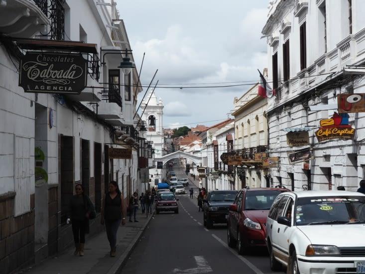 Les rues blanches de Sucre