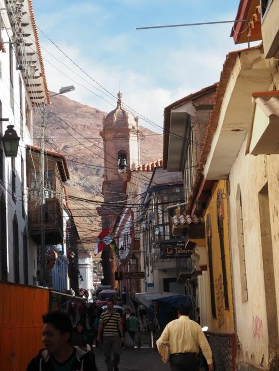 Les rues pittoresques de Potosi