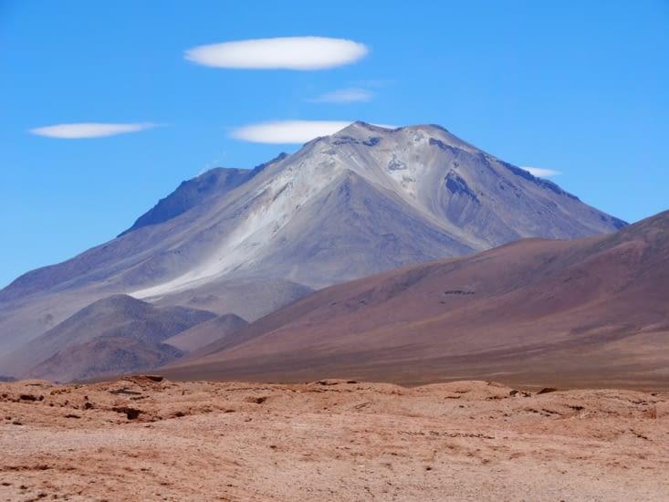 Un volcan encore en activité
