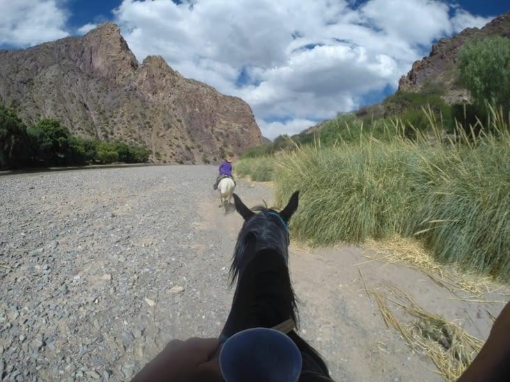 Balade à cheval autour de Tupiza
