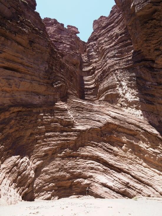 L'amphithéâtre de la quebrada de Cafayate