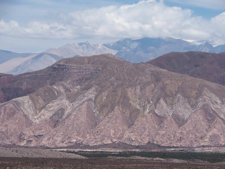 Les formes géologiques observées témoignent de l'histoire de la région