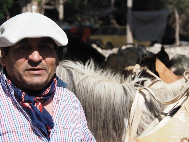 Un gaucho de la région de Salta