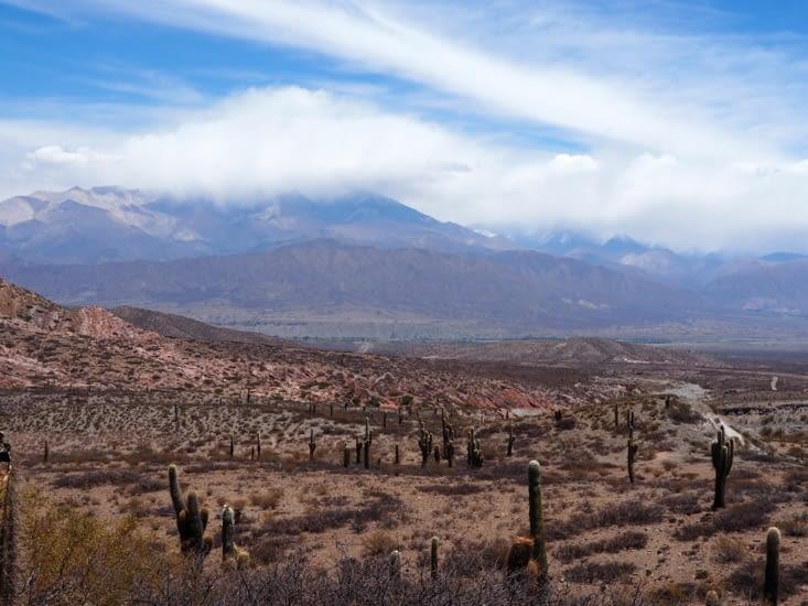 Vue sur les vallées calchaquies