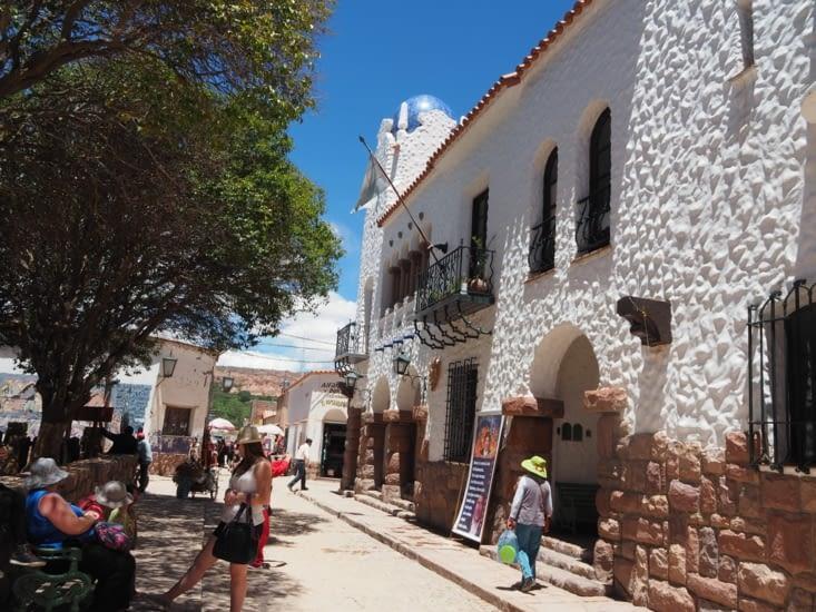 La petite ville de Humahuaca