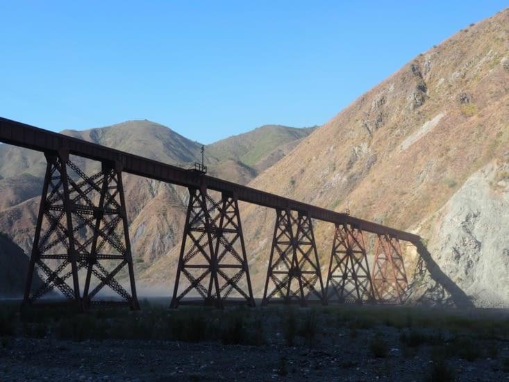 Les ponts empruntés par le train des nuages