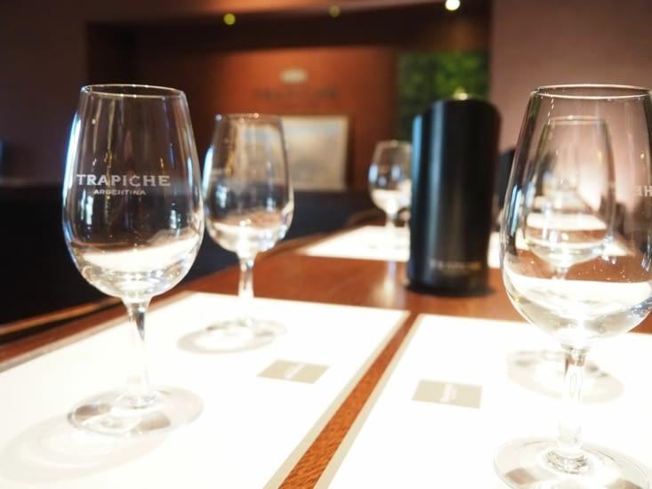 Dégustations de vins Trapiche