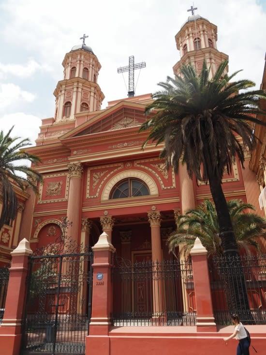 Eglise du centre de Santiago