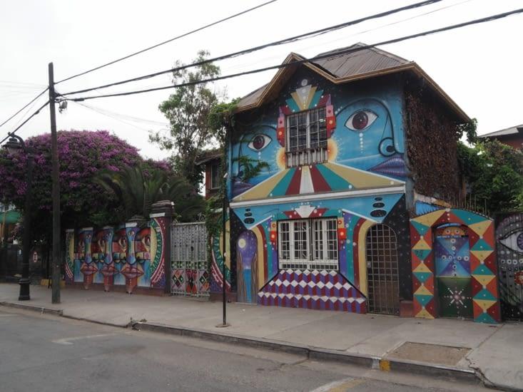 """L'auberge """"La Chimba"""" à Santiago"""