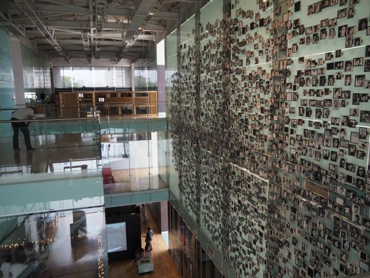Le musée des droits de l'Homme de Santiago
