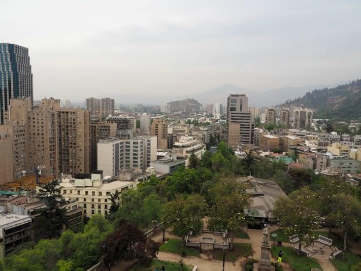 Santiago : béton et grisaille