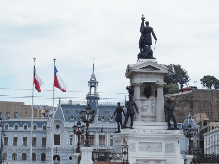 La place principale de Valparaiso