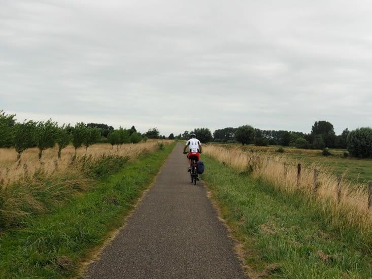 Les premieres pistes cyclables des Pays-Bas