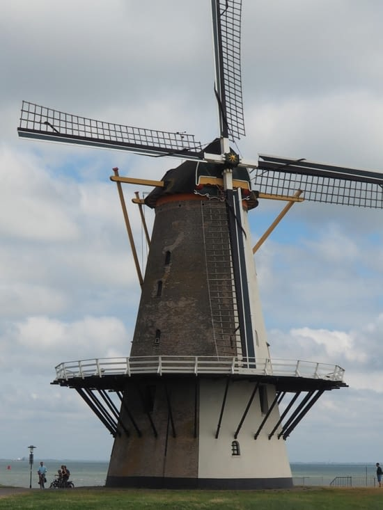 Un moulin rencontré à l'entrée de Vlissingen