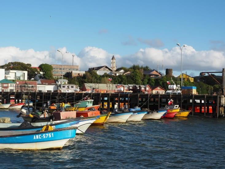 Le port d'Ancud