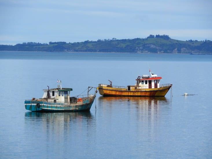 Les bateaux de pécheurs de Tenaùn