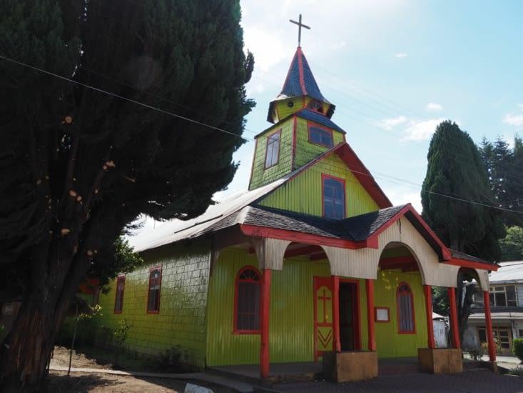L'église verte de Quemchi