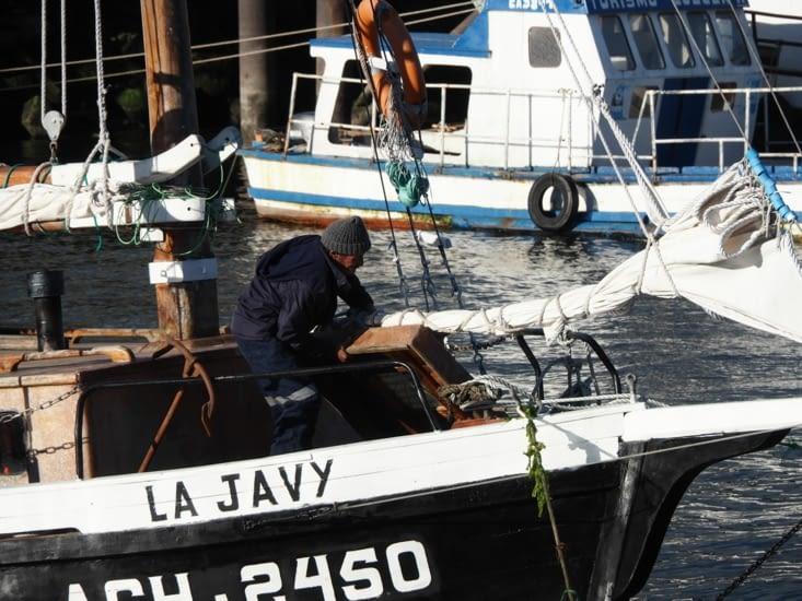 Un marin de l'île de Chiloé