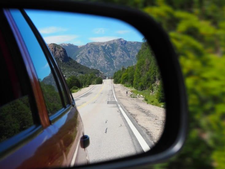 La route des 7 lacs depuis notre rétroviseur