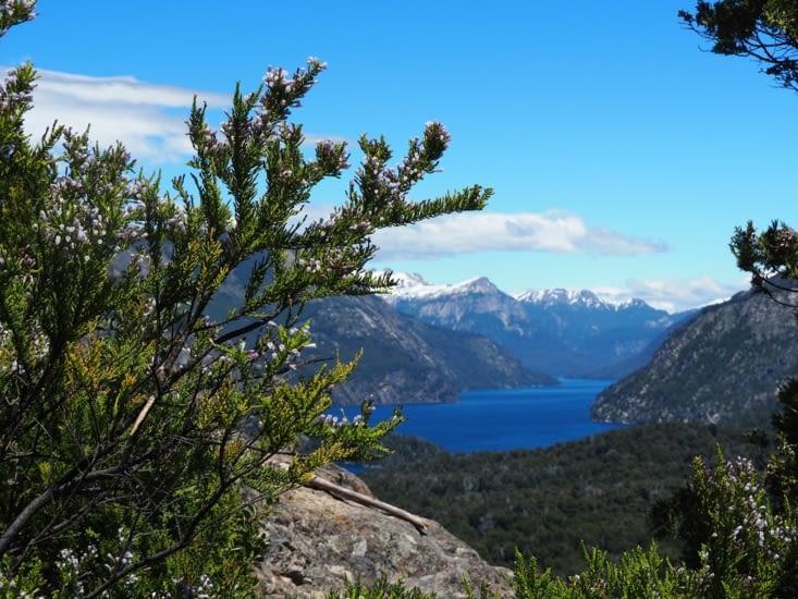La vue depuis le Cerro Llao Llao