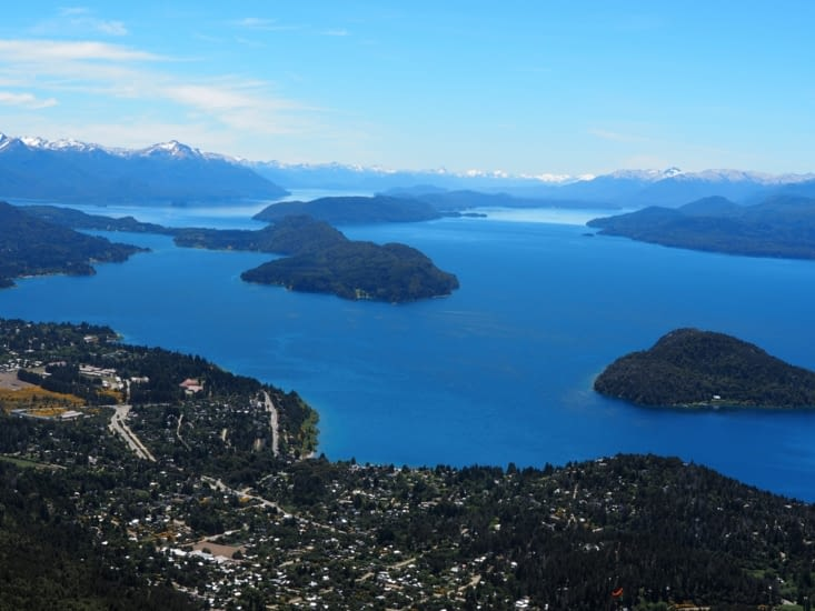La vue depuis le Cerro Otto