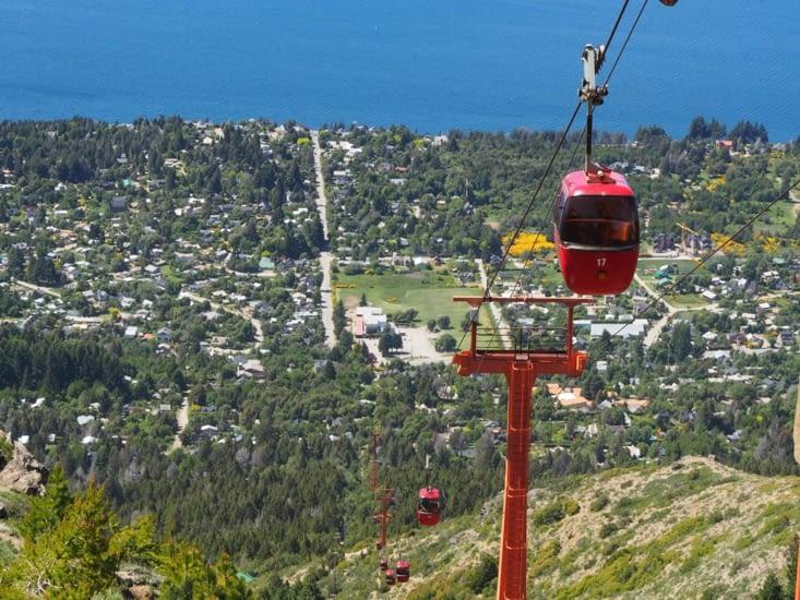 Le téléphérique du Cerro Otto