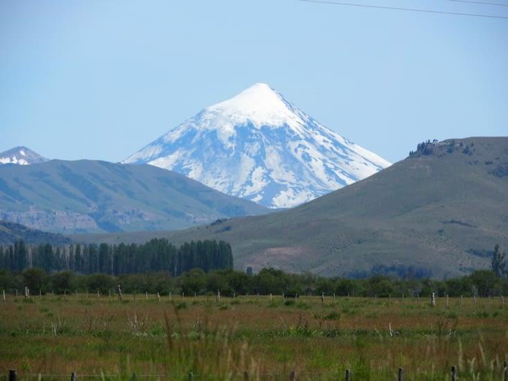 Les monts enneigés de la région de Bariloche