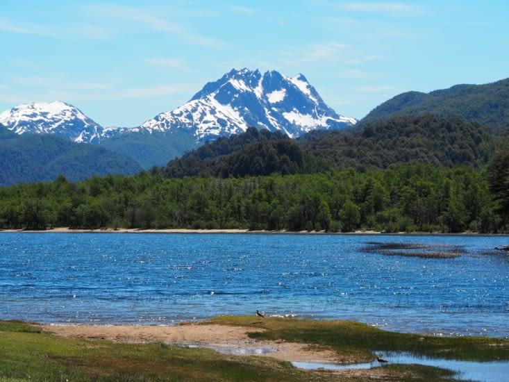 Montagnes, forêts et lac