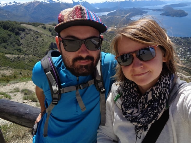 Selfie au sommet du Cerro Otto