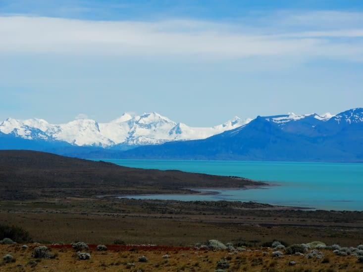 Le Lago Argentino à proximité de El Calafate