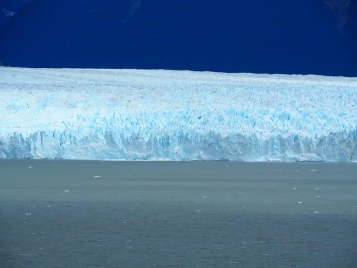 Les murs de glace de 60m du glacier Perito Moreno