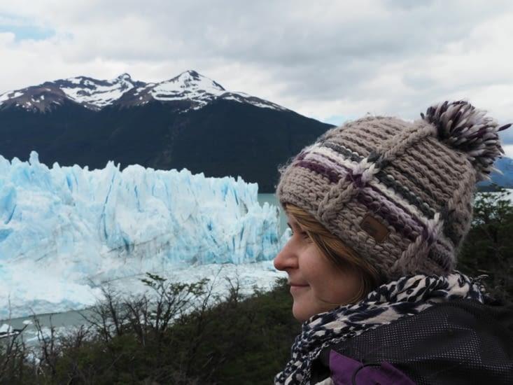 Yoyo devant le Perito Moreno