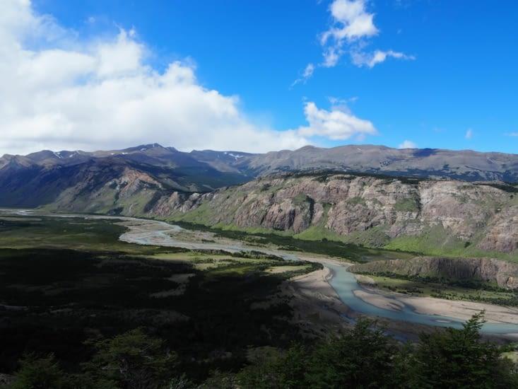 La vallée autour de El Chalten