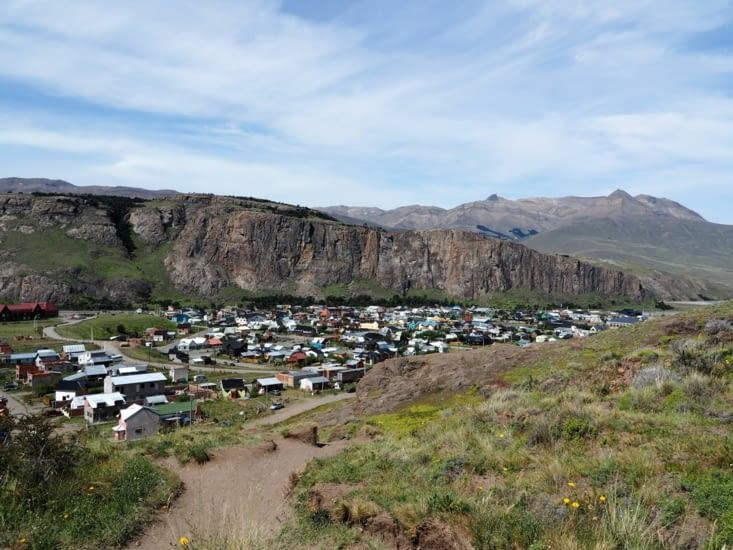 La ville d'El Chalten