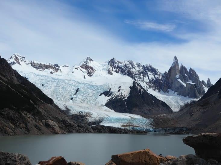 Le glacier et la laguna Torre