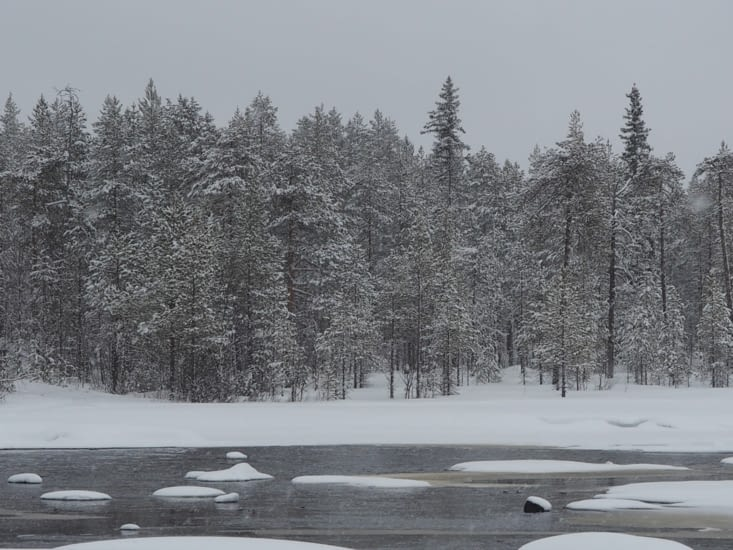 La paisibilité des paysages lapons