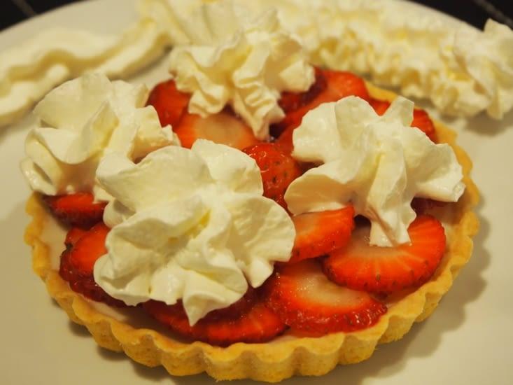 La tartelette aux fraises d'inspiration allemande