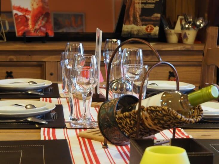 Notre table à Encuentro Gourmet