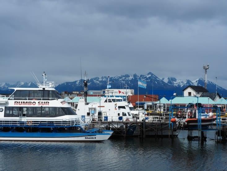 Le port de Ushuaia