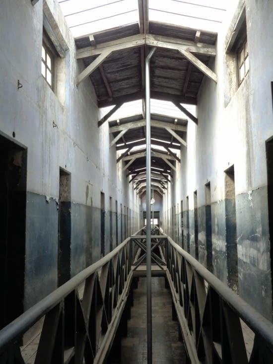 Les cellules de l'ancien bagne d'Ushuaia