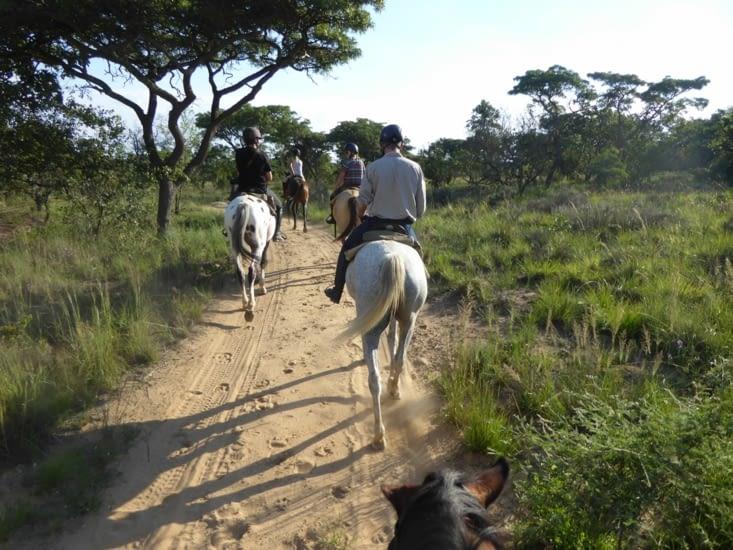 1ère sortie à cheval