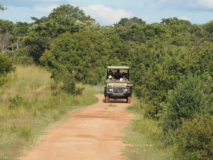 Nos véhicules pour le safari