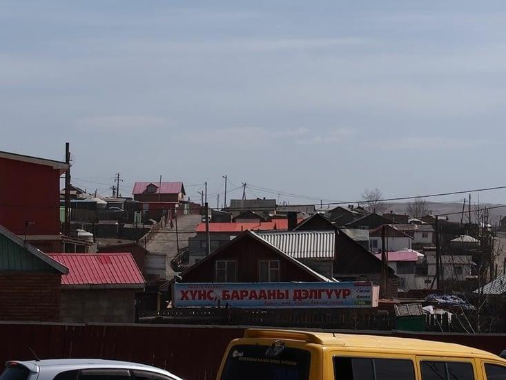 quartier d'Oulan Bator