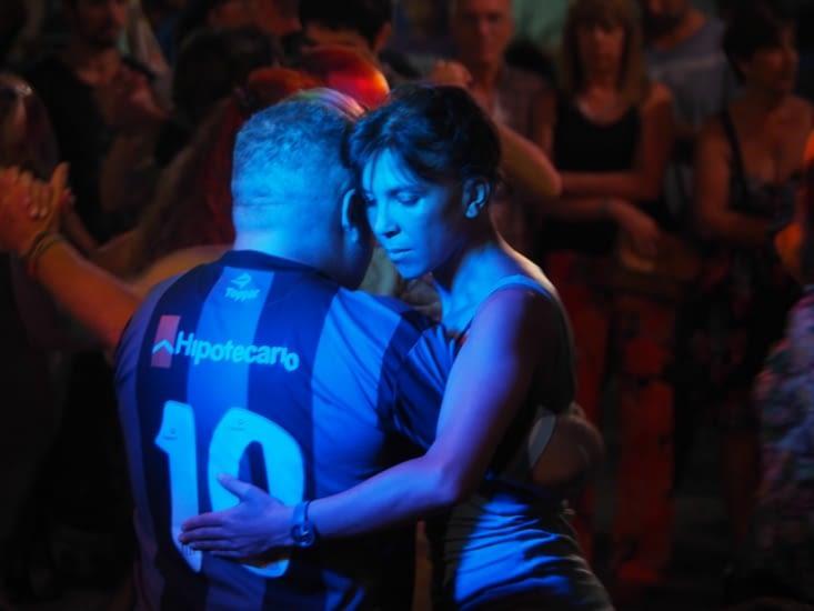 Entre Tango et Football son coeur balance