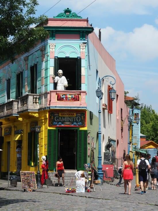 Le quartier populaire de La Boca