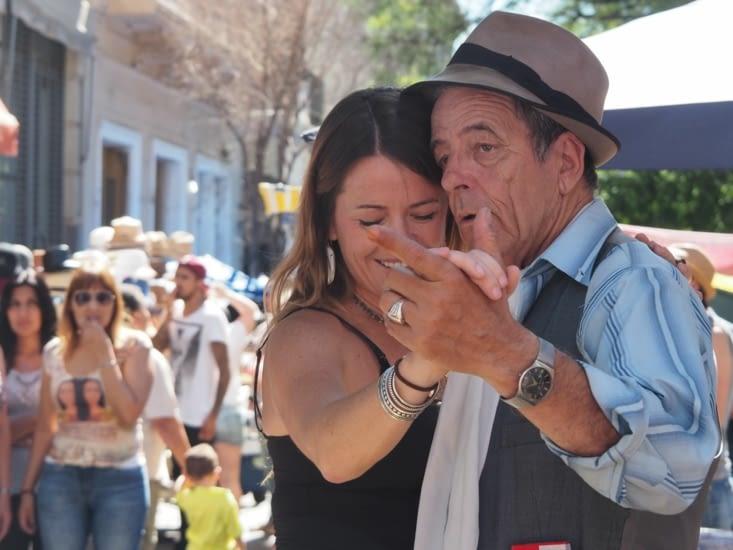 Les danseurs de tango de San Telmo