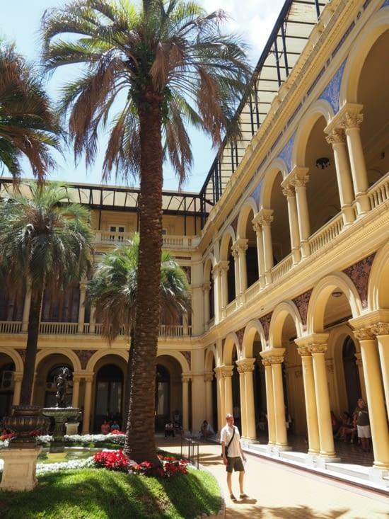 L'intérieur de la Casa Rosada